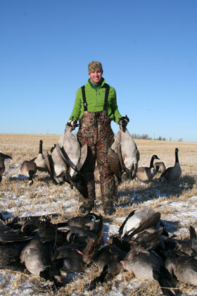 Doug Massig, owner and guide of Massig's Migrators in Calgary, Alberta, Canada